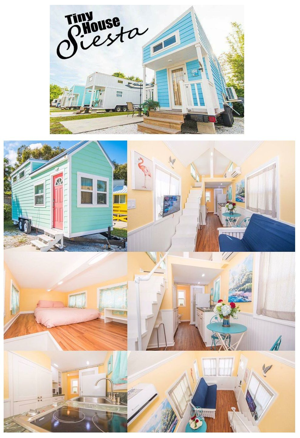 beautiful tiny house vacation rentals in florida close to the 1 rh ar pinterest com