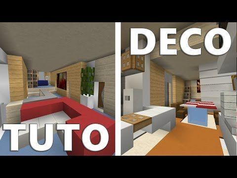 Tuto Deco Maison Moderne Minecraft Moderne Jeux Vidéos
