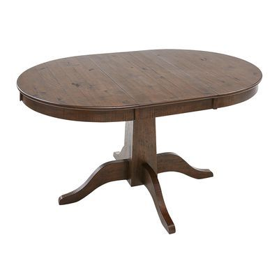 heritage cafe round extension dining table in 2019 new table rh pinterest com