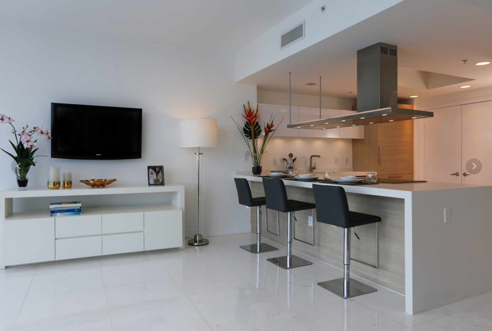 A very modern kitchen design by Kevin