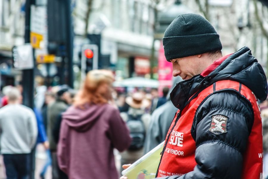 """""""The Big Issue"""" - Good to know that The Big Issue is helping a lot of people deal with homelessness and that they're not alone in this - HomeLess, HomeLessNess, Sans Abris, Obdachlos, Senza Dimora, Senza Tetto, Poverty, Pobreza, Pauvreté, Povertà, Hopeless, JobLess, бідність, Social Issues, Awareness"""