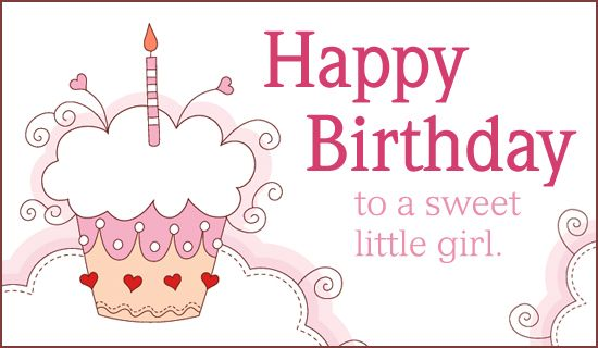 Free Sweet Girl eCard eMail Free Personalized Birthday Cards – Send a Birthday Greeting by Email