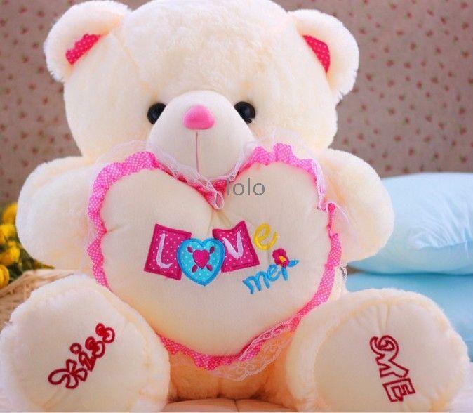 70cm cute teddy bear doll big heart arms hold59011092kg 674 70cm cute teddy bear doll big heart arms publicscrutiny Choice Image