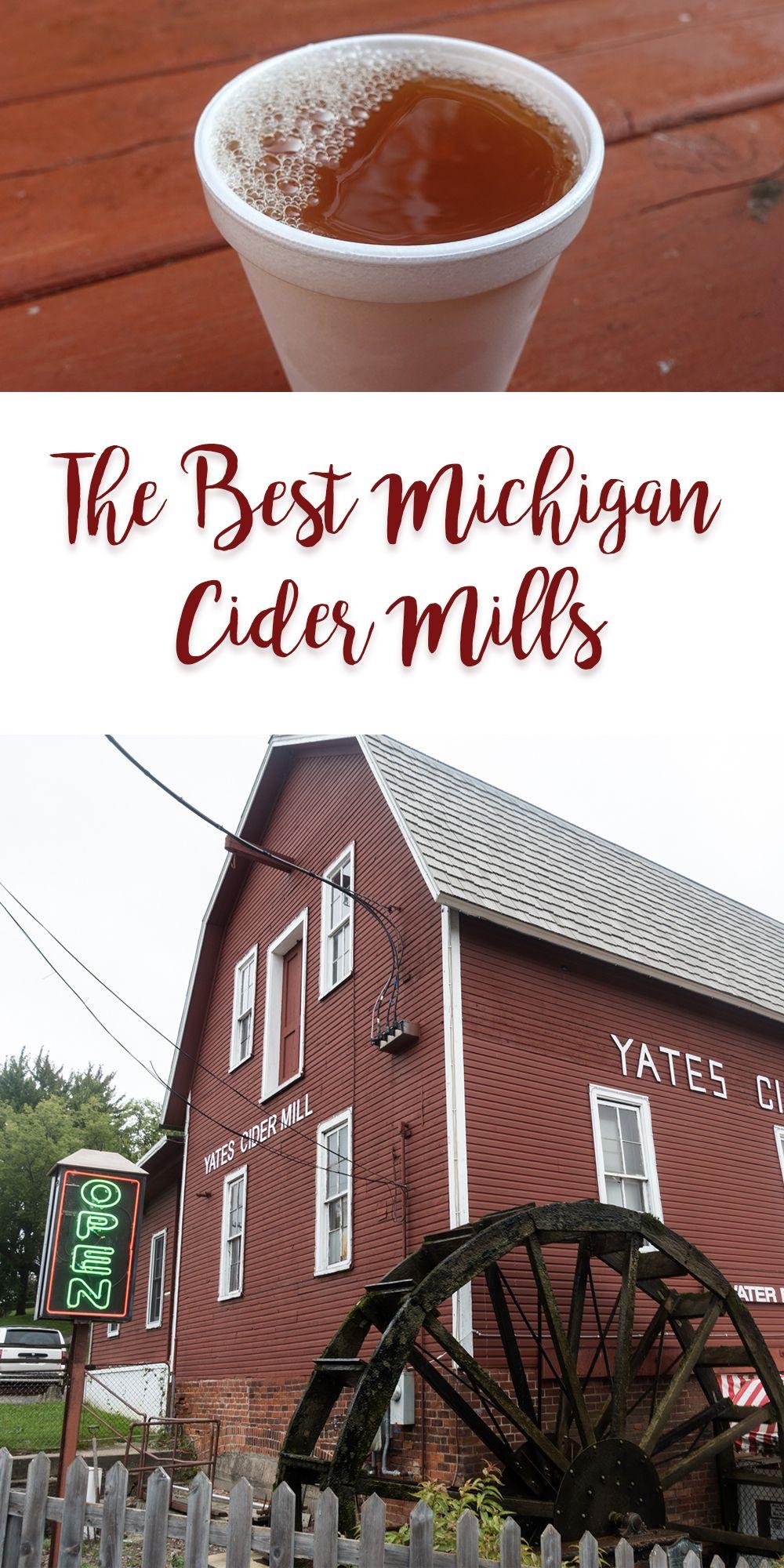 The Best Michigan Cider Mills - Thyme & Love