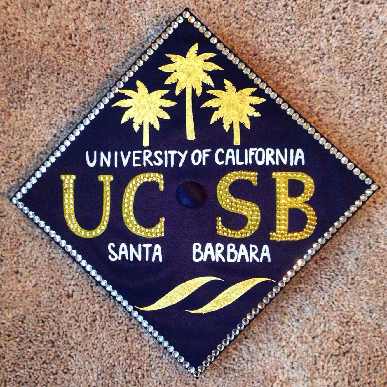 UCSB grad cap idea #graduation #university #california