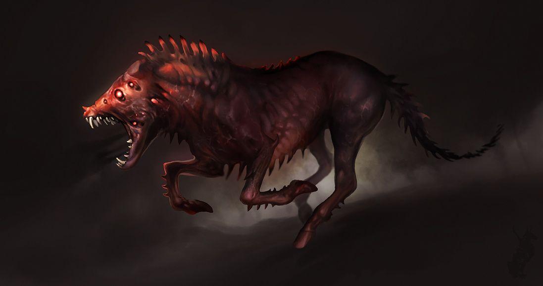 Hellhound by Smirtouille.deviantart.com