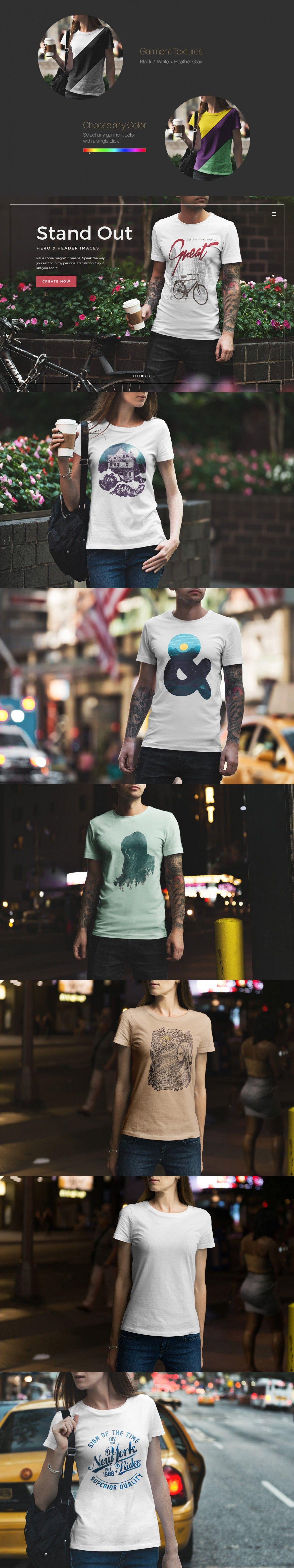 Download T Shirt Mockup Urban Edition Vol 3 By Genetic96 On Envato Elements Shirt Mockup Tshirt Mockup Shirts