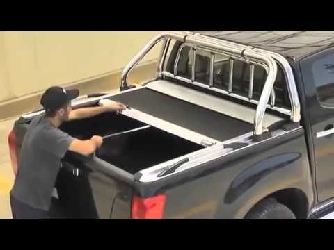 couvre tonneau enrouleur toyota hilux vigo double cabine partir de 2005 projets. Black Bedroom Furniture Sets. Home Design Ideas