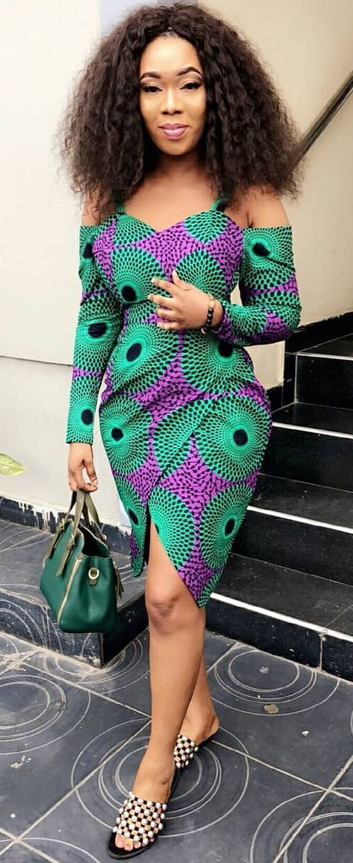 design intemporel 7e43b 947e6 robe africaine chic   Modèles   Robe africaine, Mode ...