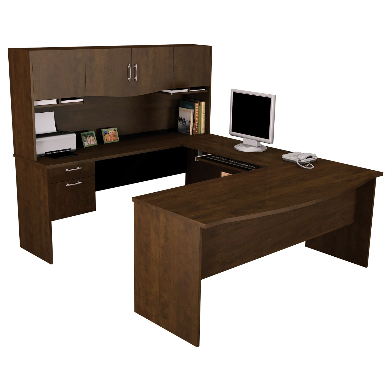 A Sturdy U Shaped Workstation Will Provide You With Plenty Of Space To  Study Or. Computer DesksOffice ...