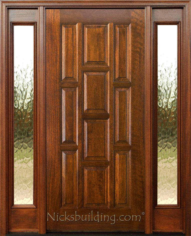 Exterior Doors With Sidelights Solid Mahogany Entry Doors Exterior Doors Mahogany Entry Doors Mahogany Exterior Doors