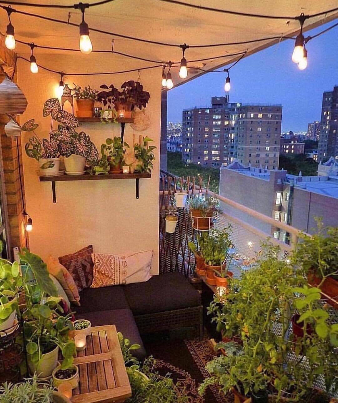 Pin By ⓀⒶⓉⒾⒺ On Everything Apartment Balcony Decorating Small Balcony Decor Balcony Design