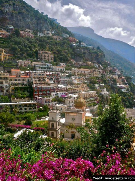 Positano, Amalfi Coast: Million dollar view