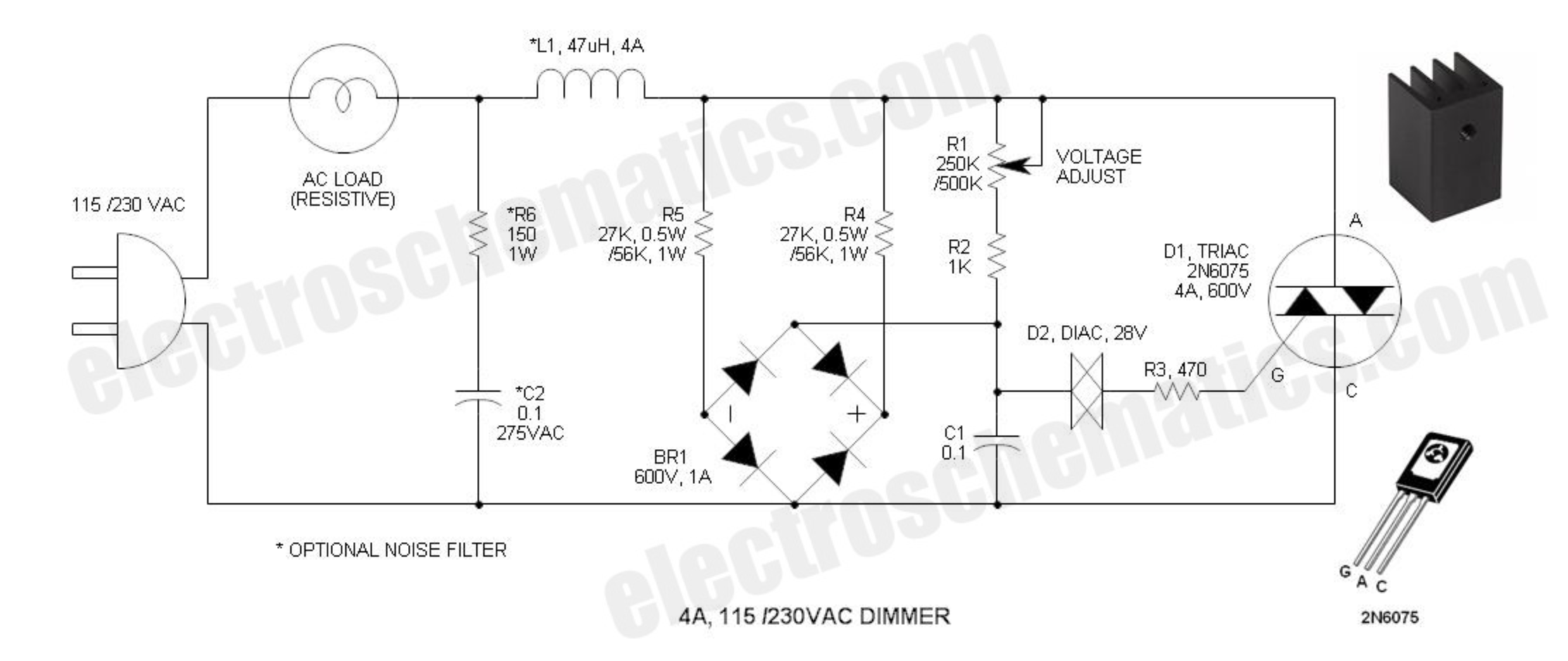 Unique Electrical Wiring Diagram Dimmer Switch diagram