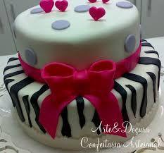 bolos decorados com pasta americana com estampa de zebra e onça - Pesquisa Google