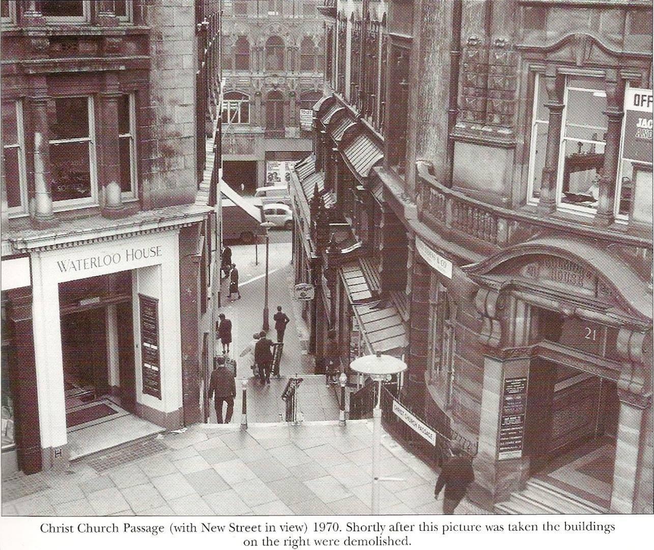 Light Warehouse Birmingham: Christchurch Passage In The City Of Birmingham