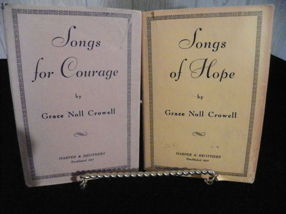 Songs about hope and courage
