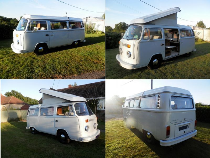 vw 1973 rhd type 2 bay window westfalia campervan for sale on rh pinterest com
