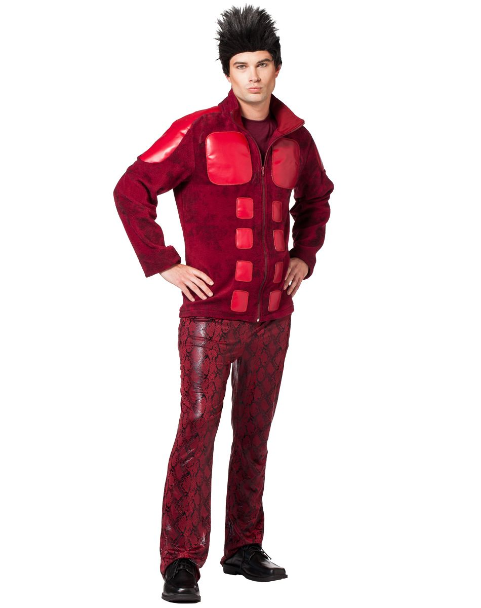 derek zoolander adult costume at spirit halloween strike a pose in the officially licensed derek - Spirit Halloween Store 2016
