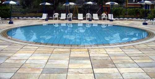 How To Install Slate Tile Over Concrete Outdoor Tile Over Concrete Patio Tiles Pool Tile Designs