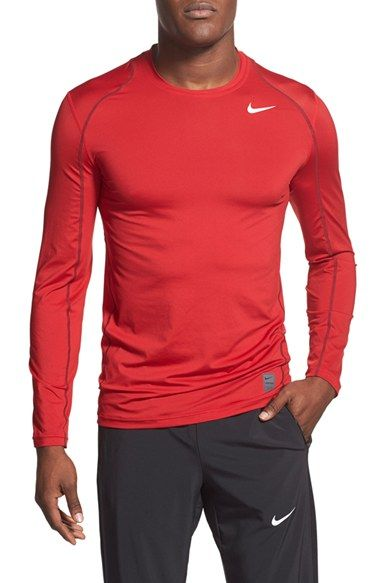 01cac7059 Nike 'Pro Cool Compression' Fitted Long Sleeve Dri-FIT T-Shirt ...