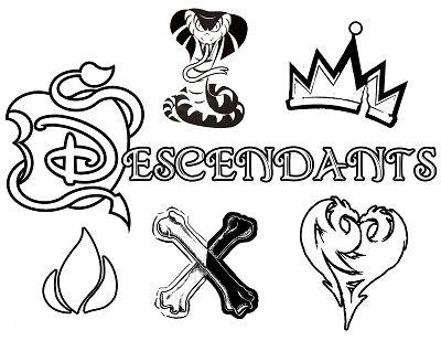 Desenhos De Descendentes Disney Para Colorir Pintar E Imprimir