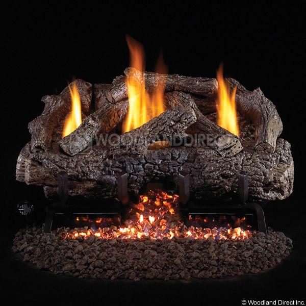 home gas logs real fyre vent free gas logs 30 real rh pinterest com