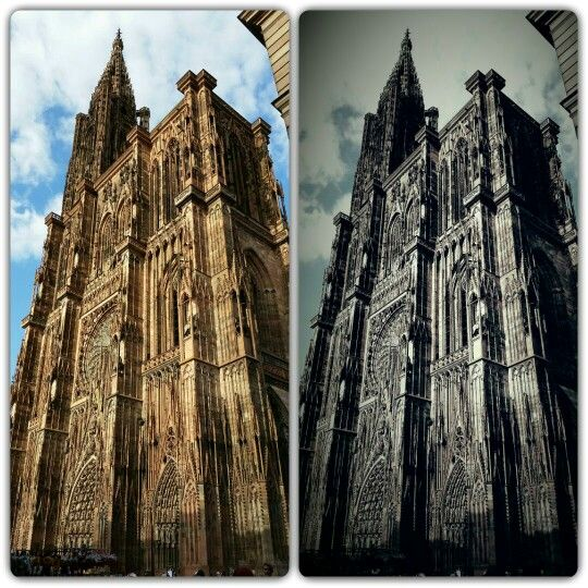 Beautiful Cathedral Strasbourg France
