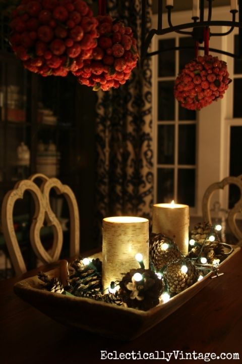 christmas night by light home tour all things christmas dough rh pinterest com