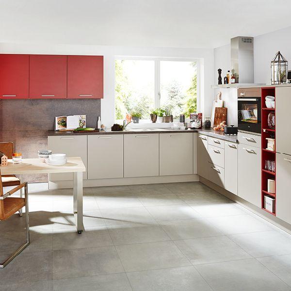 Küchenkombination Markenküchen mit vielen Küchentrends