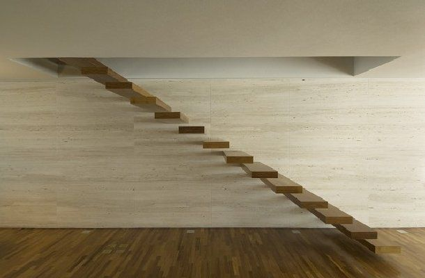 Simple And Modern Stairs Wanden Huis Interieur Interieur