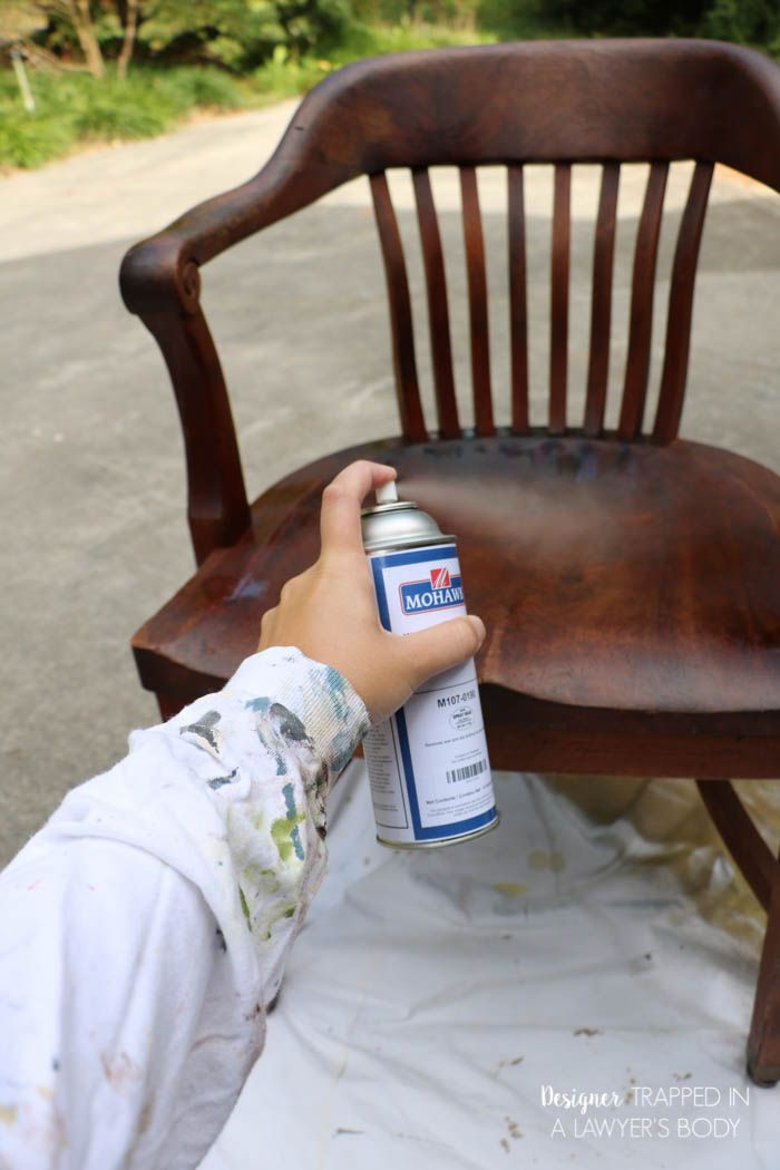 how to refinish wood chairs the easy way wood refinishing rh pinterest com