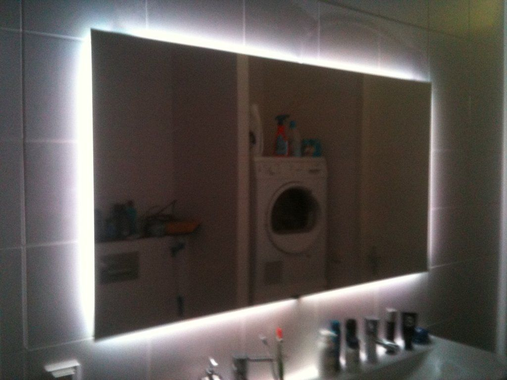 Bathroom Heated Mirrors Bathroom Mirror Led Step By Step And Lights