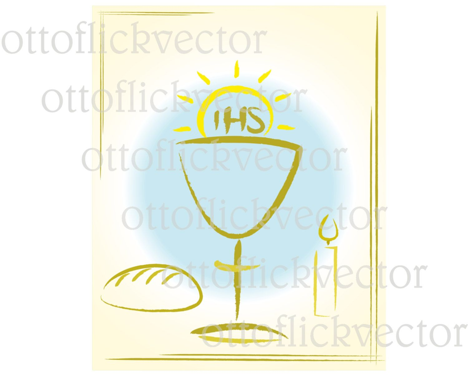 My first holy communion vector clipart digital invitation card my first holy communion vector clipart digital invitation card eps ai cdr biocorpaavc