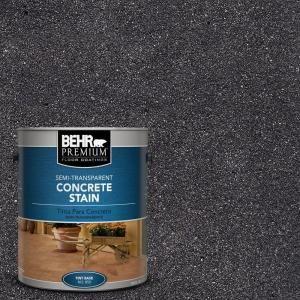 Behr Premium 1 Gal Stc 35 Dark Coal Semi Transparent