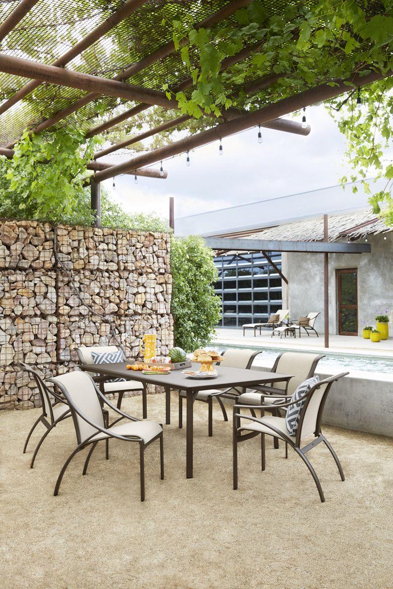 pasadena sling dining new for 2016 dining catalog outdoor rh pinterest com