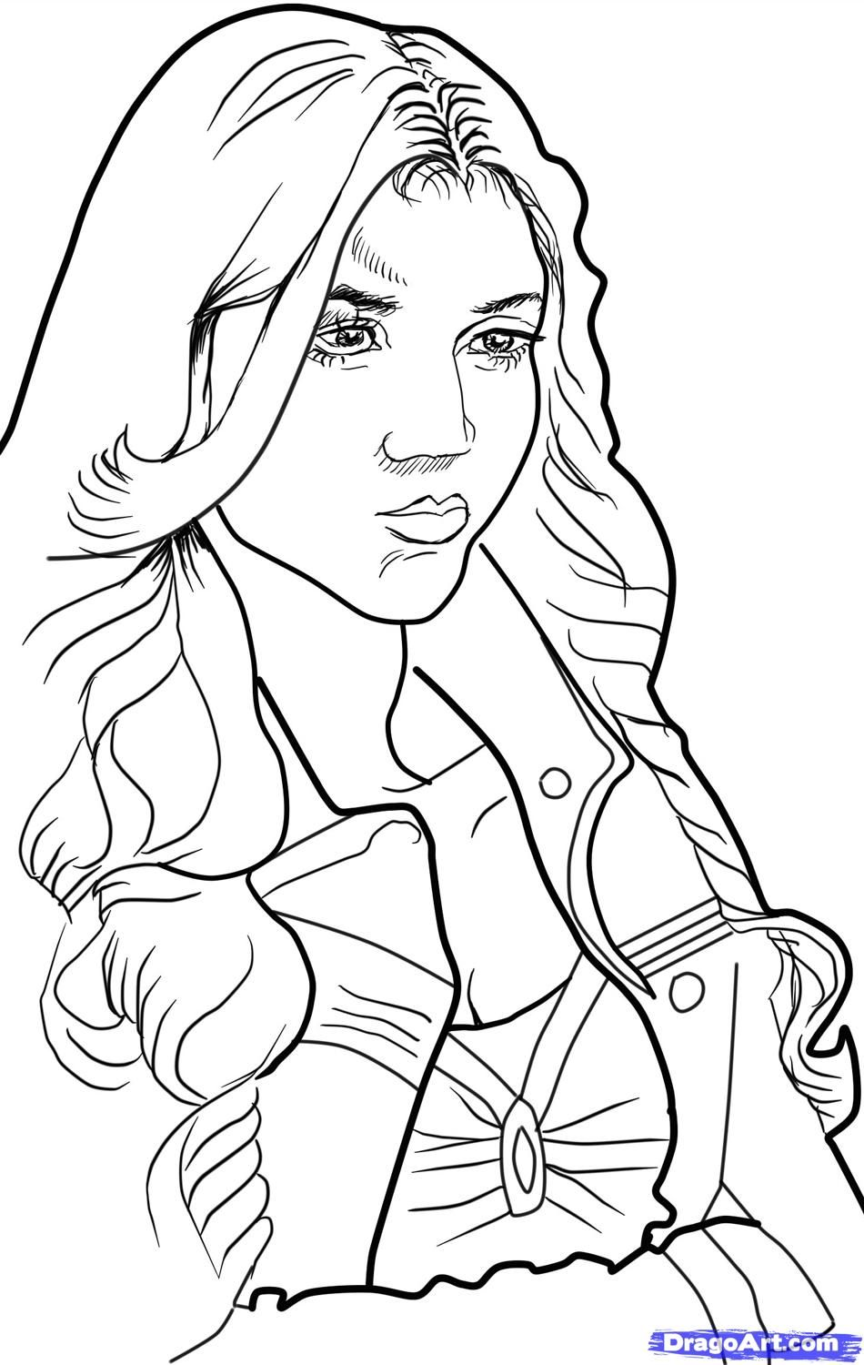 Vampire Diaries Coloring Pages Horse Coloring Pages Drawings