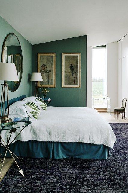 green white bedroom - Best Green Bedroom Design Ideas