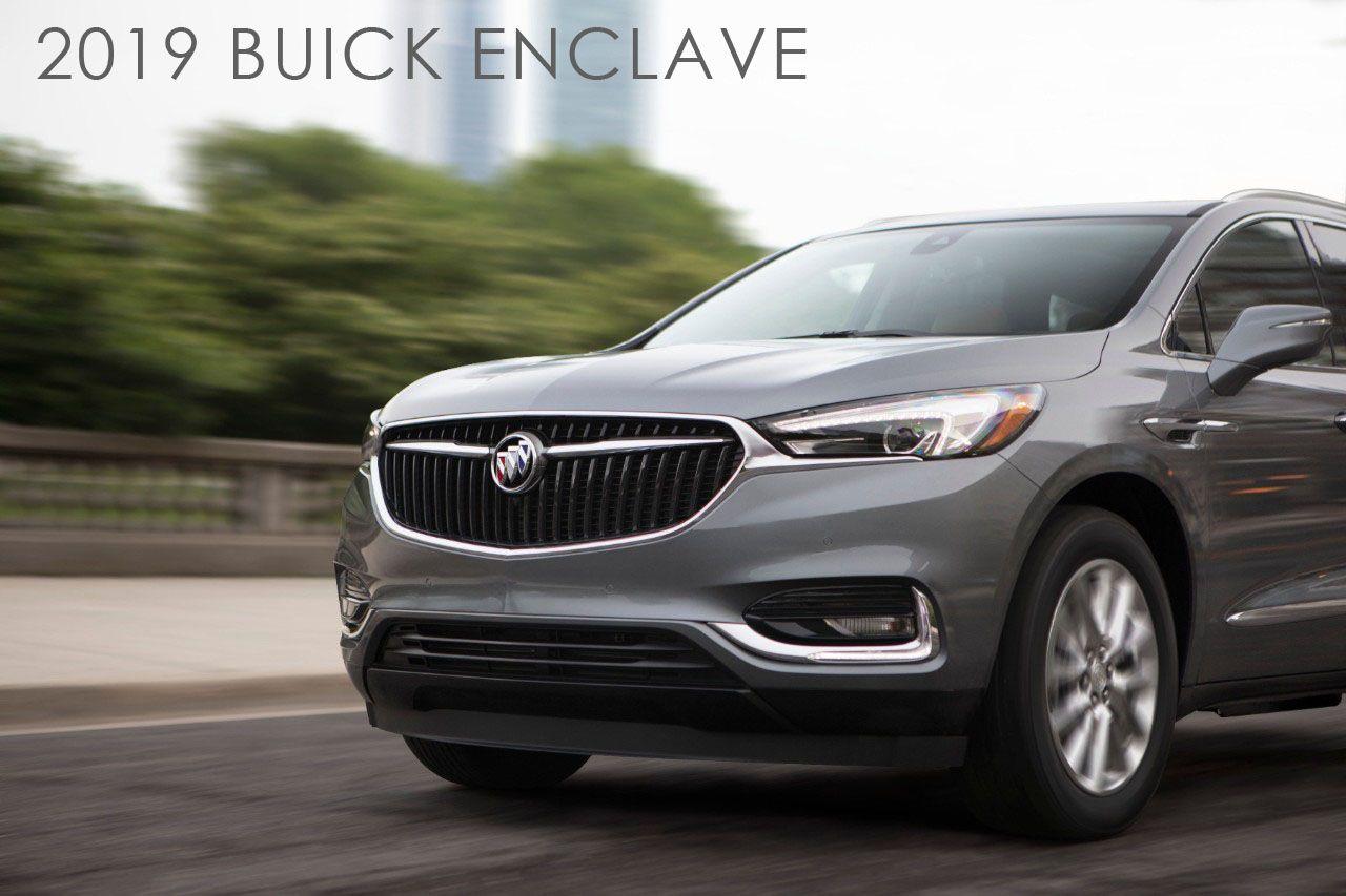 2019 Buick Enclave Buick Buick Enclave Buick Envision