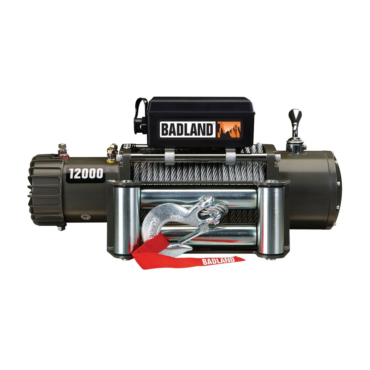 medium resolution of 12000 lb off road vehicle electric winch with automatic load holding brake from harbor freight note there is a coupon that makes this item 299 in stores