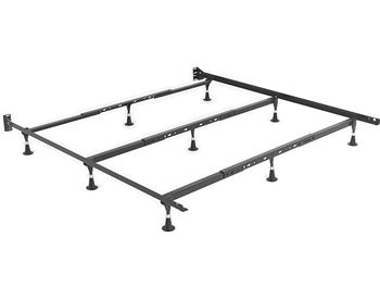 Heavy Duty 9 Leg Bed Frame Fits Queen King And Cal King