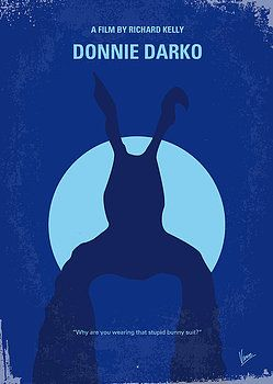 Chungkong Art - No295 My Donnie Darko minimal movie poster
