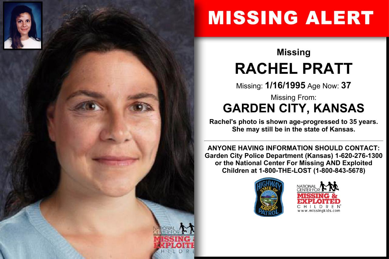 Rachel Pratt Age Now 37 Missing 01 16 1995 Missing From
