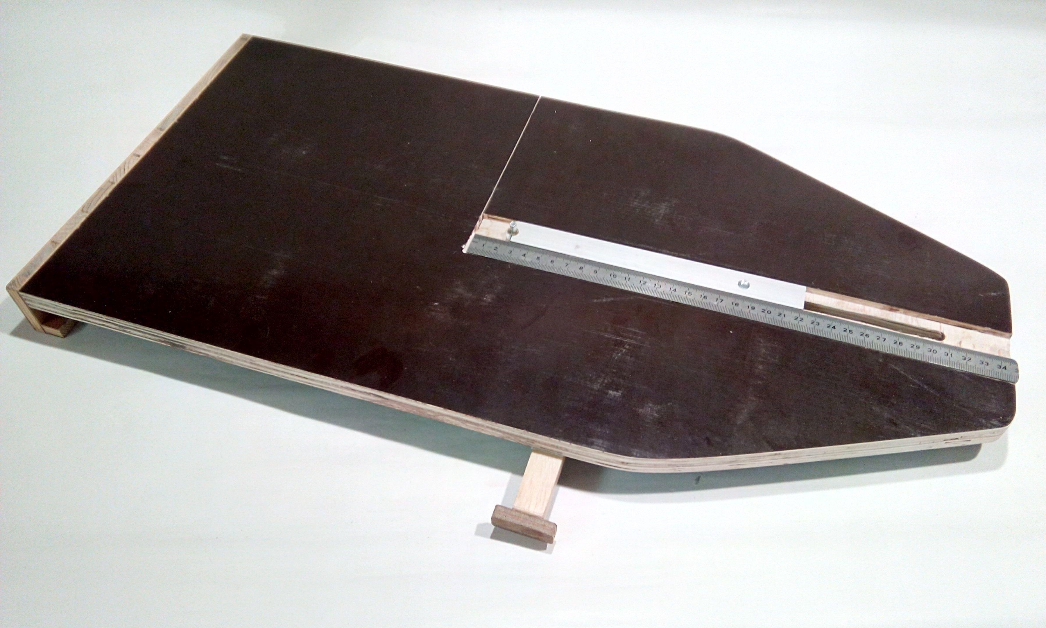 kreisschneidevorrichtung f r die bands ge bauanleitung werkstatthelfer 1 2 do. Black Bedroom Furniture Sets. Home Design Ideas