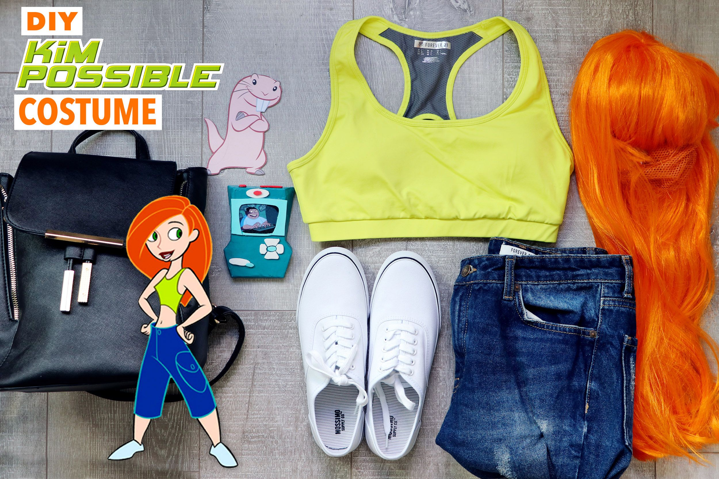 My Kim Possible Halloween Costume + DIY Kimmunicator