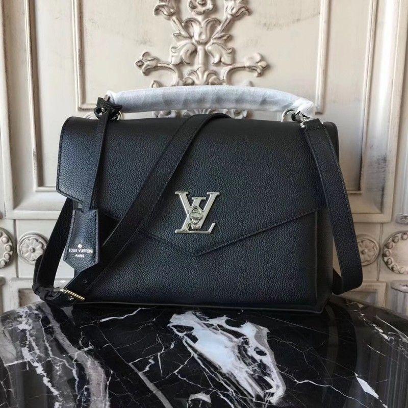 Louis Vuitton My Lockme Noir M54849  MyLockme   Louis Vuitton ... f1a9d3014ed