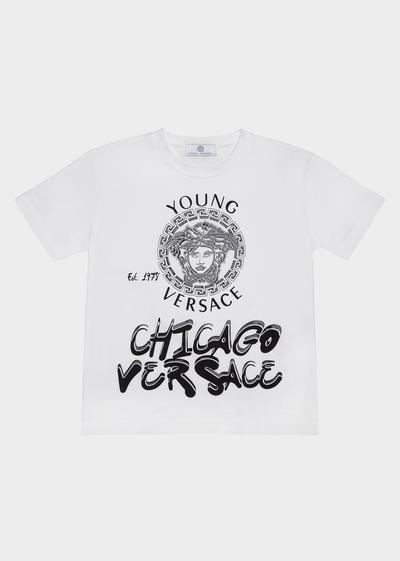 9c9e85681d6d Chicago Versace T-Shirt - Y3337 Clothing Versace SS17