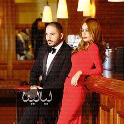 حصرياً : الصور الأولى لرامي عياش وخطيبته داليدا سعيد
