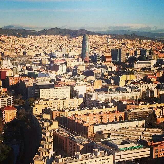 Barcelona, Spain ~ city view