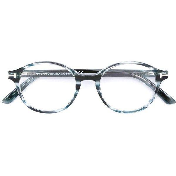 9dab779a24b Tom Ford Eyewear round frame glasses ( 282) ❤ liked on Polyvore featuring  accessories